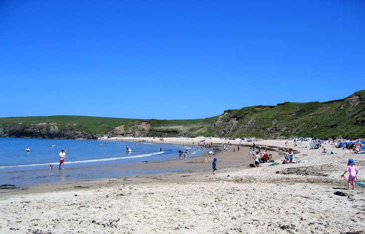 Whistling Sands beach