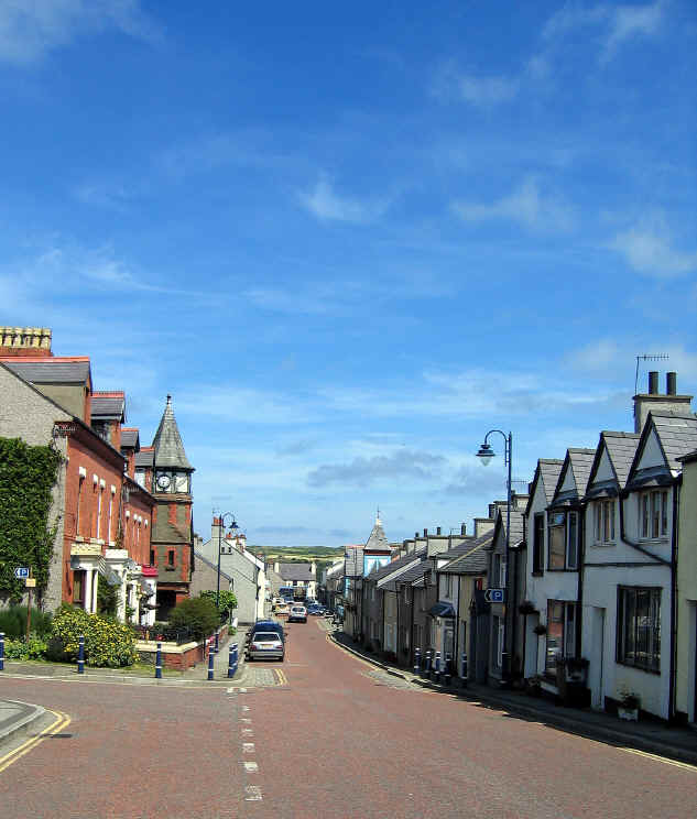 Cemaes High Street