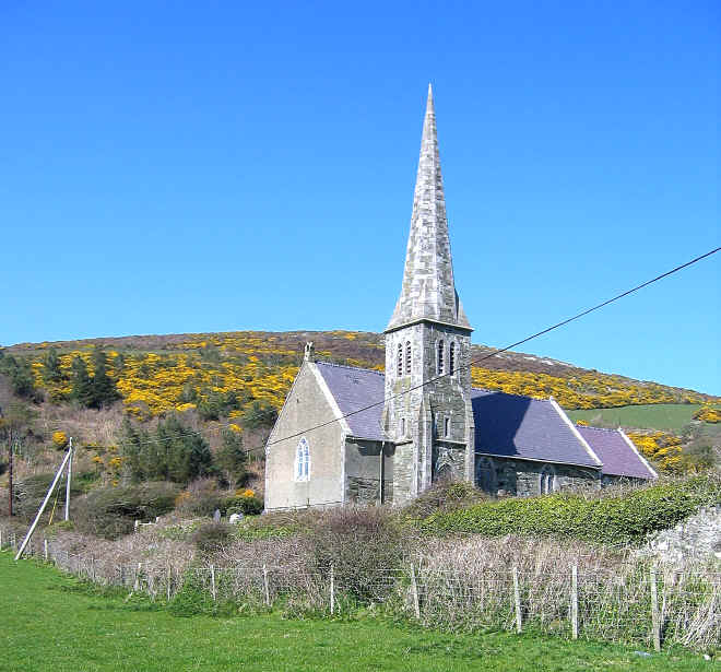 The elegant church which gives its name to Church Bay.