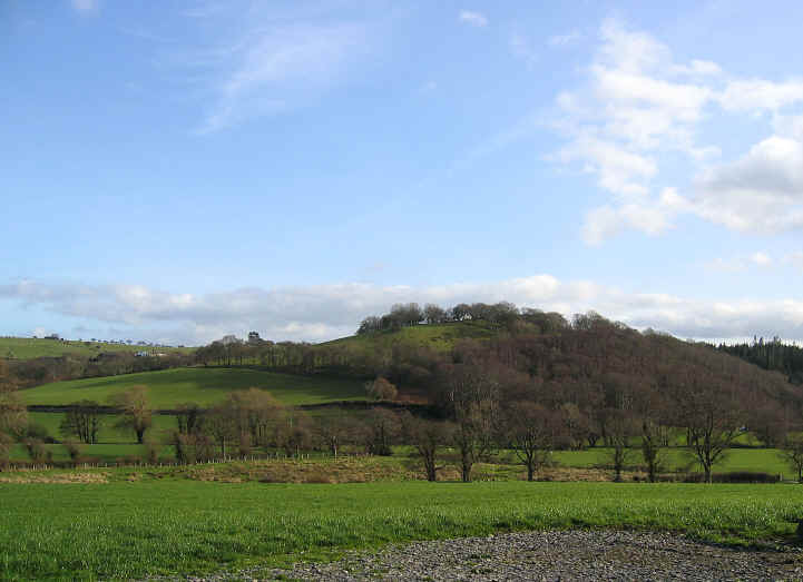 Typically unspoilt scenery of the Conwy valley