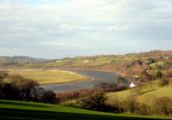 The river Conwy
