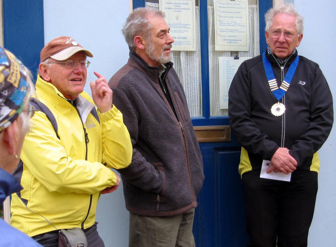Corwen Communiity Council chairman welcomes speakers