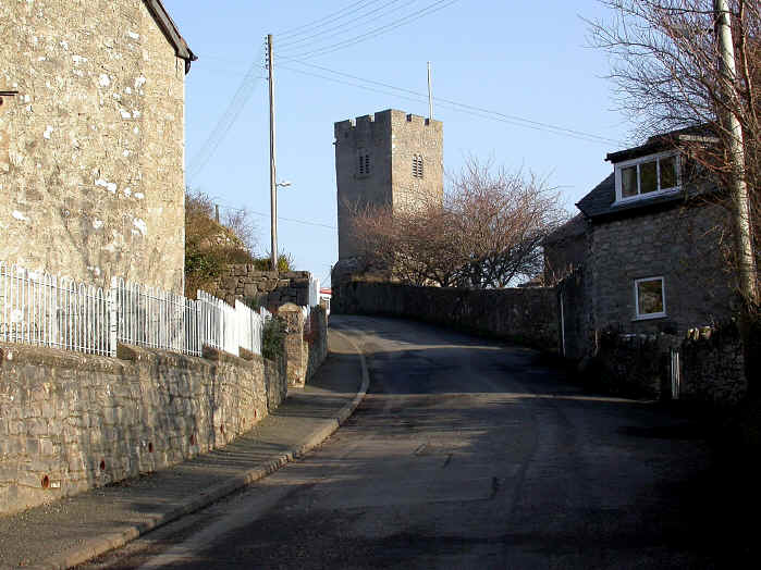 The tower at Henllan