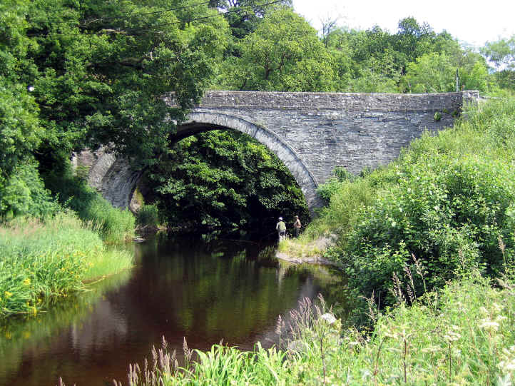 The bridge at Llanfihangel