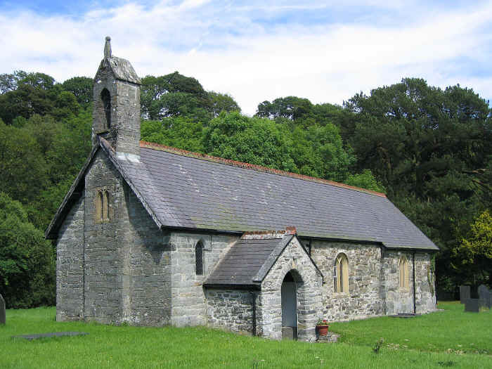 St Michael's church, Llanfihangel