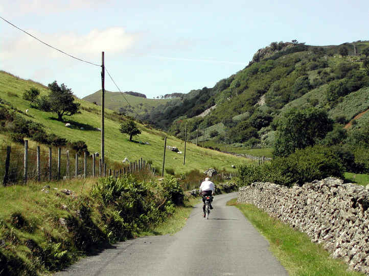 Early part of the ascent from Dolgellau to the Cregennen Lakes