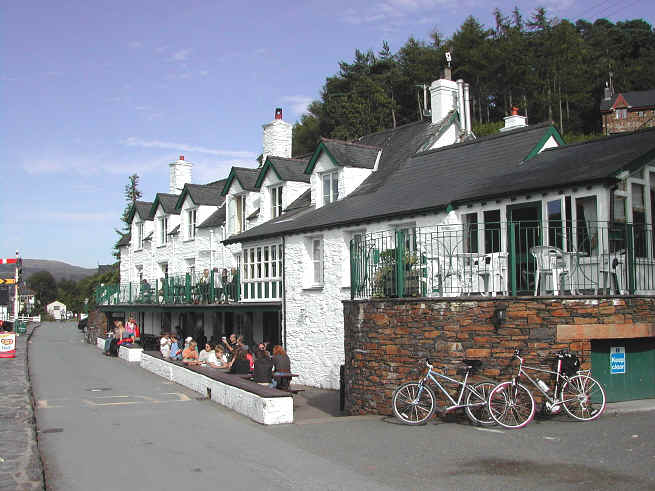 King George III inn at Penmaenpool