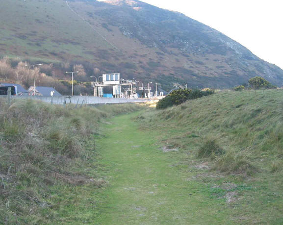 Photo of old grassy track