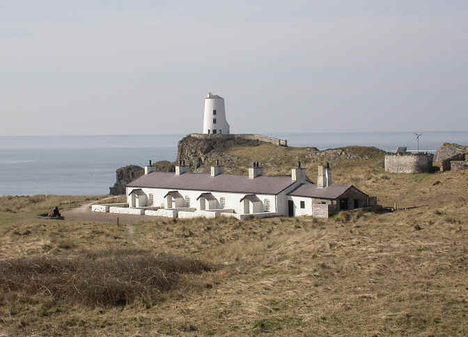 Llanddwyn Island - lighthouse and pilot cottages