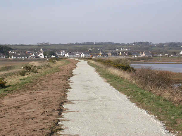 Cycleway from Newborough Forest to Malltraeth