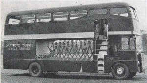 Specially adapted 1950s bus