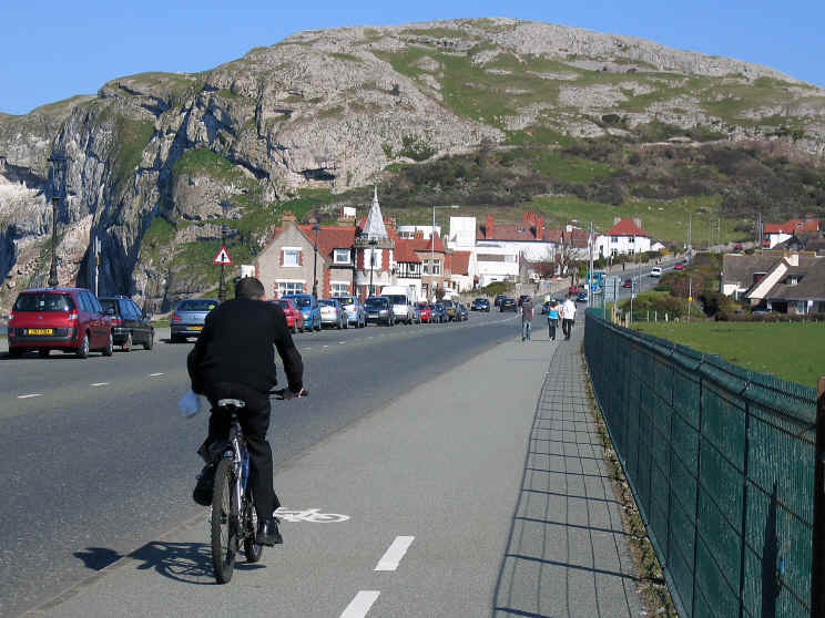 Llandudno north shore and the Little Orme