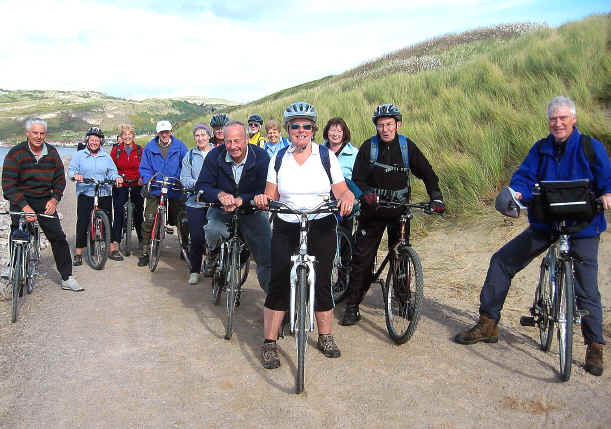 Prestatyn Ramblers take a cycle ride on the West Shore cycle path