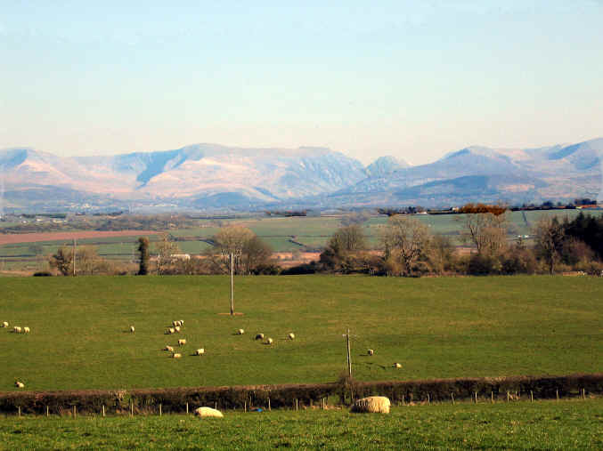 Views of the Snowdonia mountains