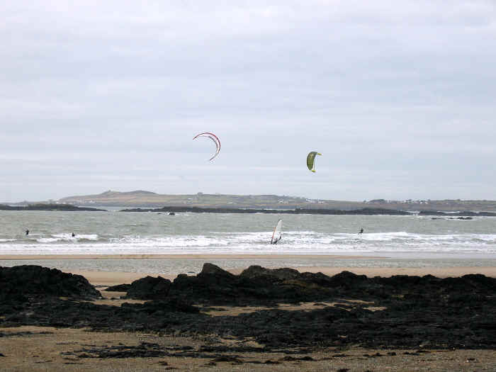 Rhosneigr is a mecca for all kinds of water sports enthusiasts