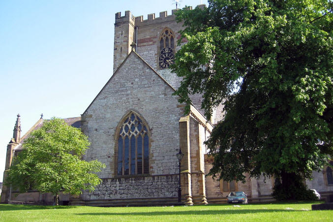 photo of St Asaph cathedral