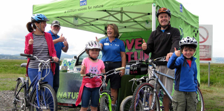 Sustrans and opening of Burton Marshes path