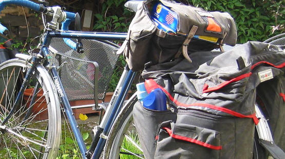 Pannier capacity for shopping