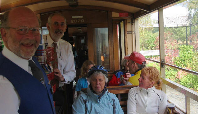 Refreshment service on the Welsh Highland  Railway